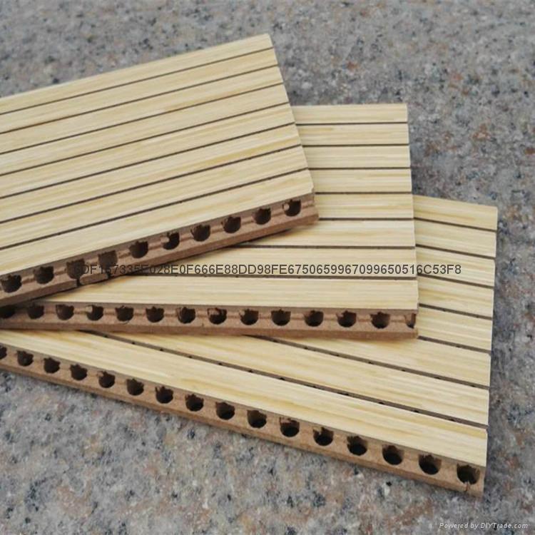 深圳踏普木质槽孔吸音板 2