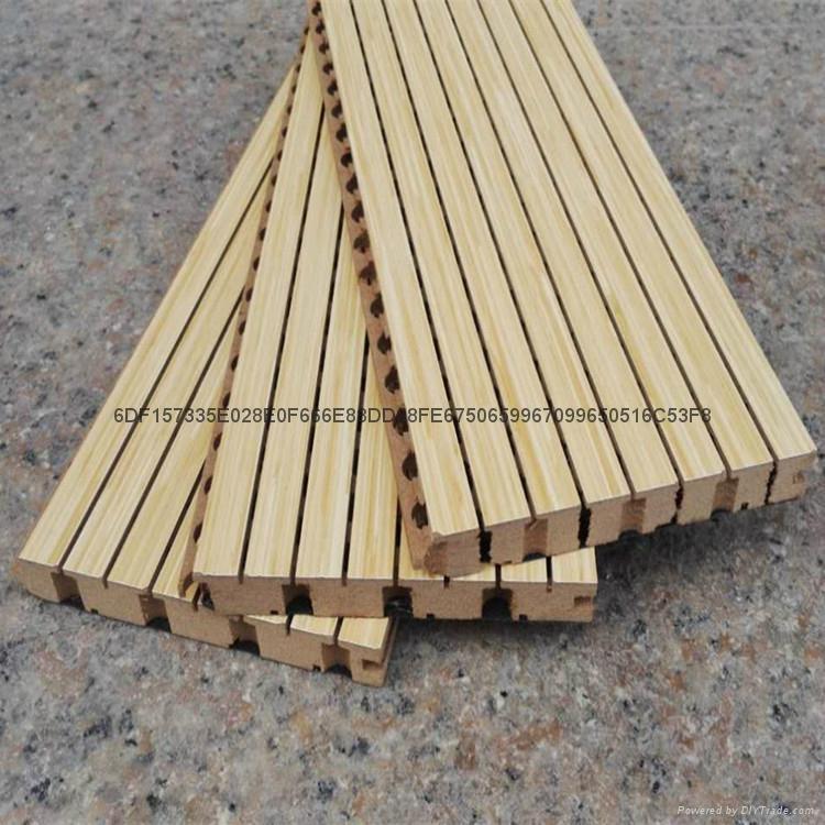 深圳踏普木质槽孔吸音板 3