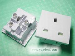 RB-02 英式卡位電源插座