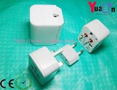 International Travel Plug Adaptor for worldwide use(YD-050))