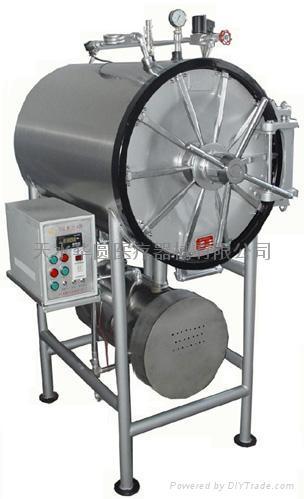 卧式圆形压力蒸汽灭菌器 1