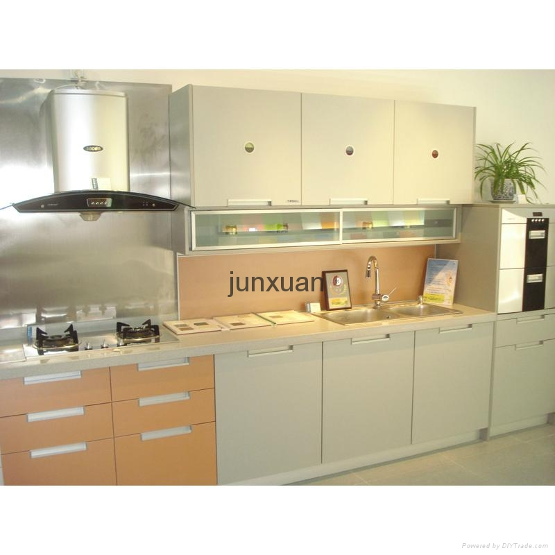 Novel Design Environmentally Friendly Kitchen Cabinet(mdf Plywood  Particleboard) 1