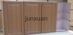 Classic PVC Blister  Door Kitchen Cabinet Design