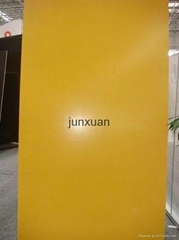 Yellow Marine Plywood With Logo,  Yellow Film Faced Plywood With Logo