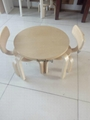 Bent Plywood Chairs/Table 2
