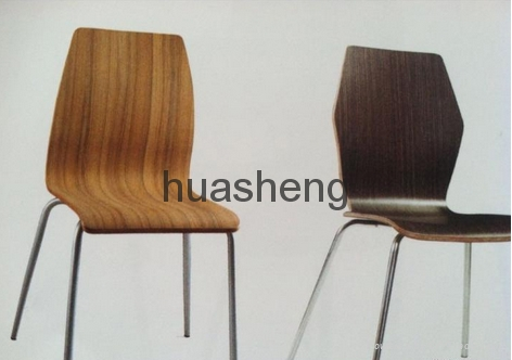 Bent Plywood Chairs/Table 4