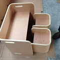 Bent Plywood Chairs/Table 5
