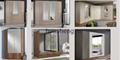 Cheap wooden MDF wardrobe laminate designs for bedroom