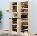 New flat pack melamine MFC MDF shoe rack