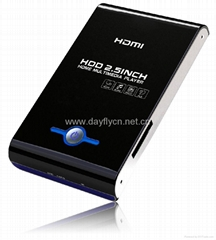 """2.5""""SATA HDMI DIVX HDD Media player up to 1080i with SD/MMC Card reader/HOST"""