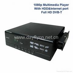 "HD DVB-T 3.5""Full HD 1080P Media Player Recorder No:HD1160DVR-T"