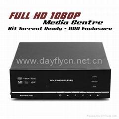 "Full HD 1080p 3.5""SATA HDD Network Media Player WIFI BT/Internet Radio SD/MMC"
