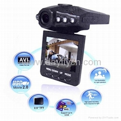 Real HD720P Car DVR Motion Detection Video Camera Comcorder,H.264,HDMI out