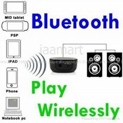 工厂批发新品无线蓝牙音乐接受器IPHONE,IPAD立体声