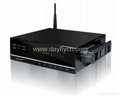 """3.5""""SATA Full HD 1080P Wireless Network MINI Blue-ray Media Player,RTD1185"""