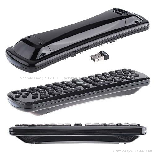 2.4G无线蓝牙键盘加鼠标,遥控器,空中飞鼠 2