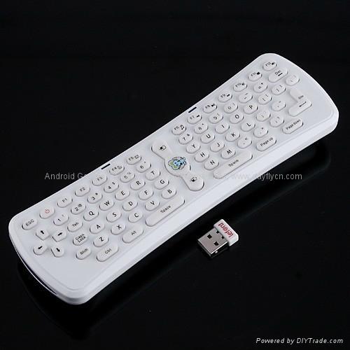 2.4G无线蓝牙键盘加鼠标,遥控器,空中飞鼠 3