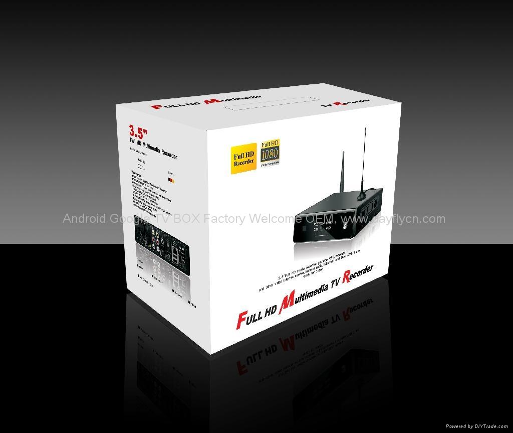 "3.5""SATA数字硬盘录像机+高清网络媒体播放机HDMI 5"