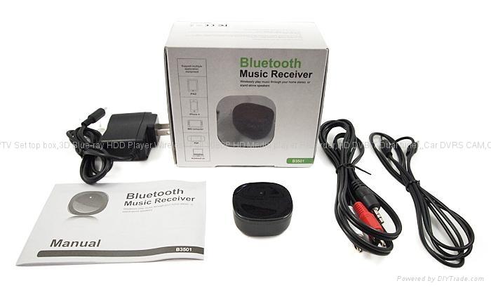 無線藍牙音樂接收器 音響 含音頻線2根iphone,ipad,支持帶藍牙手機 5