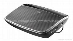 Wireless Bluetooth Handsfree Speakerphone Car Kit With Mic,AUX Bluetooth Car Kit