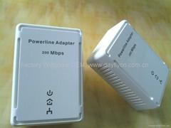 Home Plug 500Mbps PowerLine AV Network Adapter Starter Kit