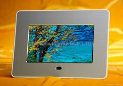 """7""""digital picture frame player movie and picture factory price Welcome oem"""