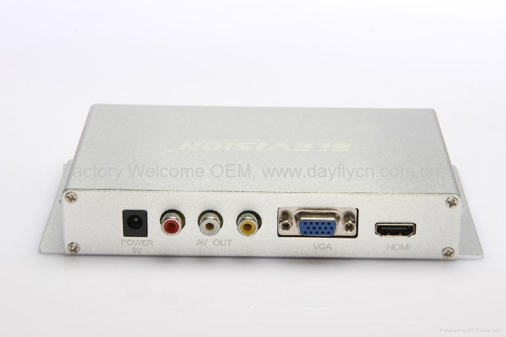1080P全高清媒体播放器CF单机广告机hdmi VGA 2