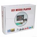 1080P全高清媒体播放器CF单机广告机hdmi VGA 5