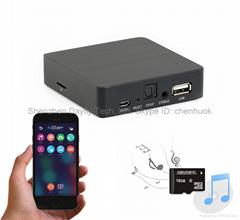 无线音乐盒,WAV DTS无损音乐接收器,wifi音乐盒