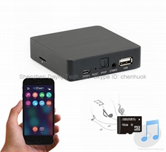NEW WiFi Music Streamer USB/TF card hifi DTS Audio, Optical and 3.5''