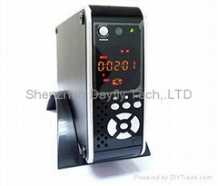 "3.5"" IDE DVR HDD MEDIA PLAYER VIDEO RECORDER PVR DVR WITH LCD+FAN"