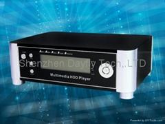 "3.5""HDMI 1080I SATA/IDE HDD Multimedia Player w/Card reader Model No:HD309TV"