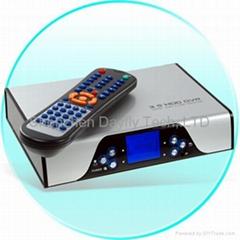 "3.5""1080i HDMI Hi-Def DVR+HDD Media Player WITH LAN Card reader+5.1ch"