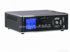 """3.5""""HDMI DVR RM/MKV HDD Media Player/720P/SD/MMC Card reader HOST/LAN EN388C2"""