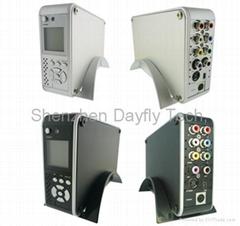 "3.5"" DIVX HDD Media player NTFS MP3 MP4 Dvd LCD"