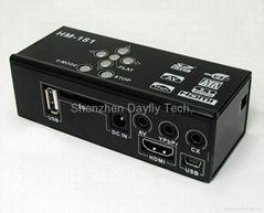 """2.5""""/3.5 MINI HDMI HDD Media Player with Card reader+HOST"""