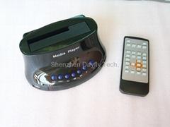"2.5""/3.5""RM/RMVB DIVX SATA HDD Media Player VGA OUT,SATA Docking Station MP002"