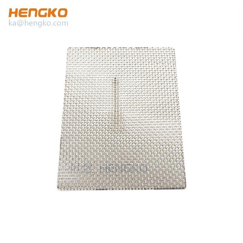 0.2-120μm不鏽鋼網粉末燒結過濾板 4
