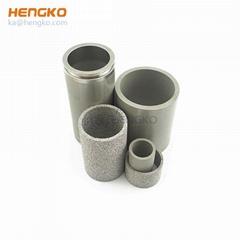 304、316L不鏽鋼燒結網片濾芯濾管