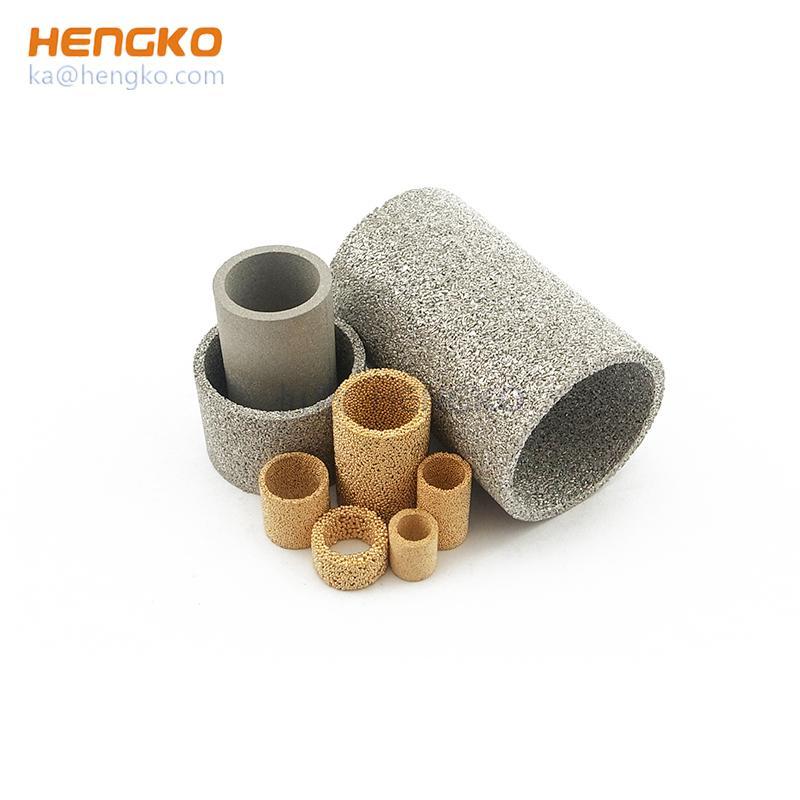 304、316L不鏽鋼燒結網片濾芯濾管 2