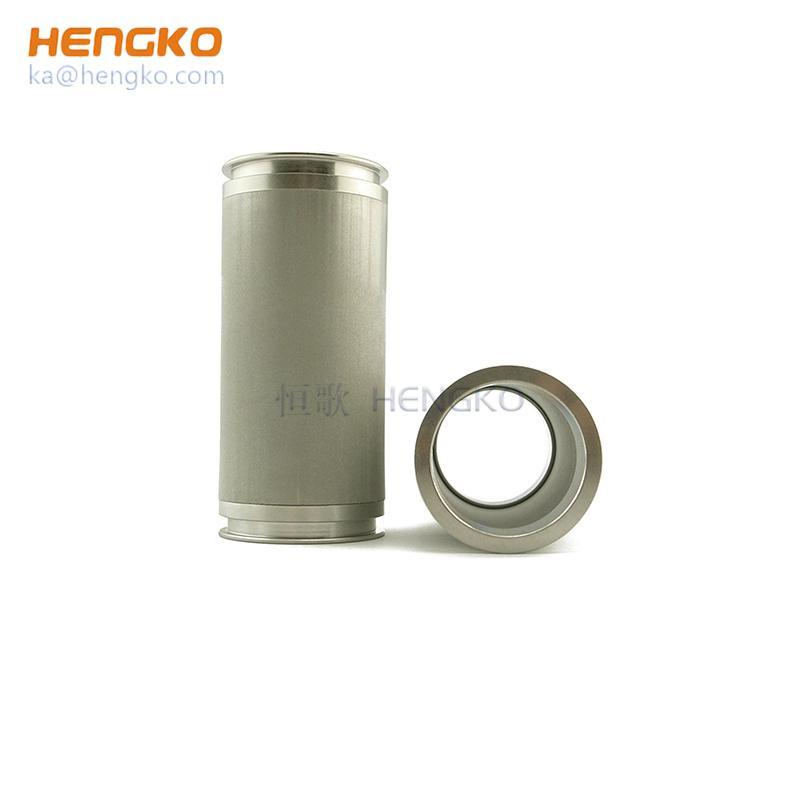 304、316L不鏽鋼燒結網片濾芯濾管 4