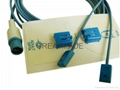 Siemens 7pin Disposable positioning Tape system with multi-site spo2 sensor