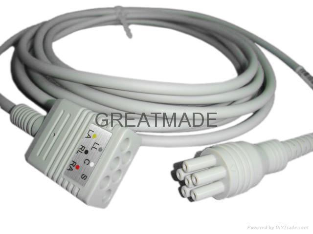 科林BP88S 監護儀心電電纜  1