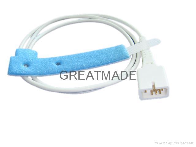 Ohmeda Adult  foam wrap Disposable  spo2 sensor ,  1