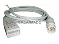 HP M1669A 3-lead AAMI & IEC  Trunk Cable
