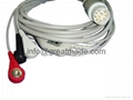 Mennen one piece cable with 3-lead , AHA