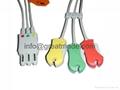 HP M1972A  3-lead  IEC grabber  ECG