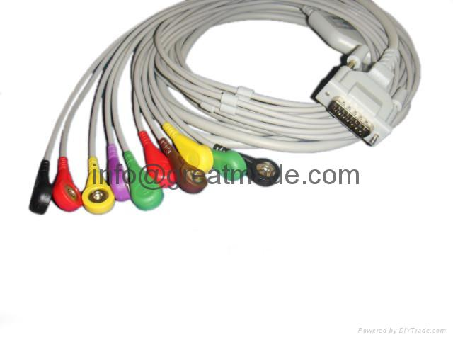 Schiller  EKG Multi-Link Leadwires , Snap  1