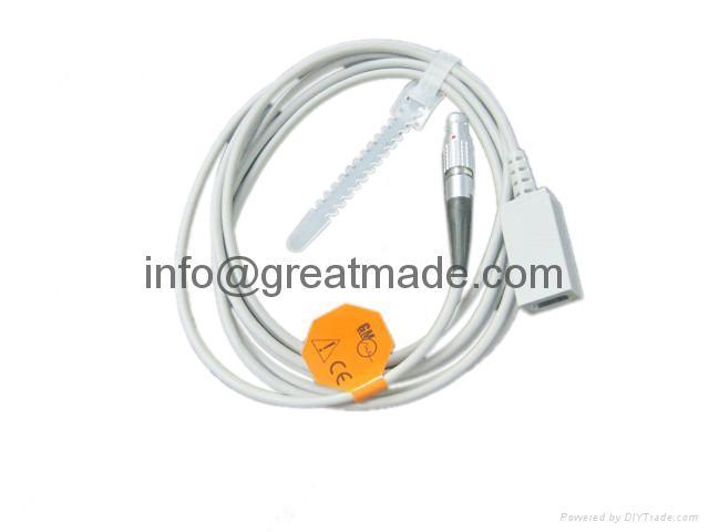 critikon Dinamap Spo2 adapter cable  1