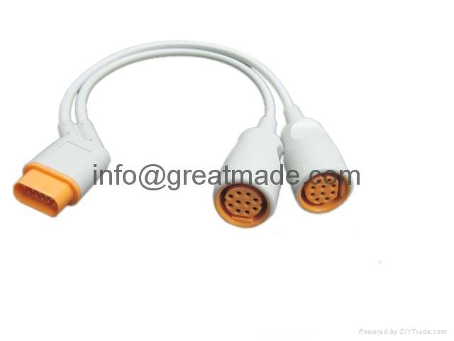 2-channel IBP adapter cable  2